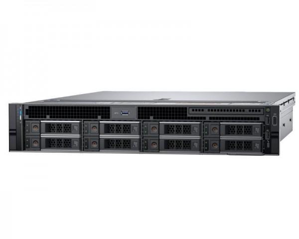 DELL PowerEdge R740 1x Xeon Silver 4110 8C 2x8GB H330 2x200GB SSD 3x2TB SAS 750W (1+1) 3yr NBD + Sine za Rack + Broadcom 5720 QP 1GB