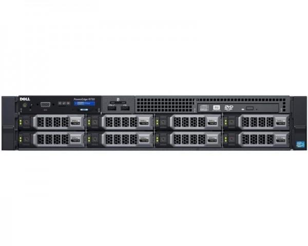 DELL PowerEdge R730 1x Xeon E5-2620 v4 8C 1x16GB H730 300GB SAS DVDRW 750W (1+1) 3yr NBD + Sine za Rack