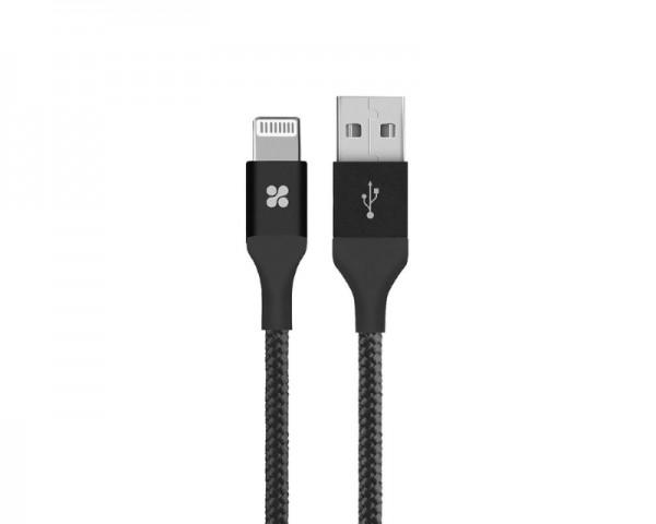 PROMATE LTF kabl za Iphone 1.2m crni