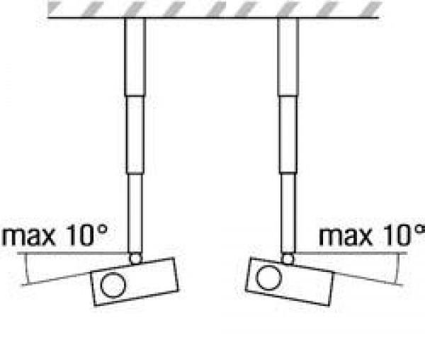 VEGA CM 25-380 univerzalni plafonski nosač za projektor