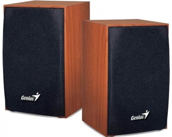 GENIUS SP-HF160 2.0 Wood braon zvučnici