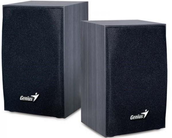 GENIUS SP-HF160 2.0 Wood crni zvučnici