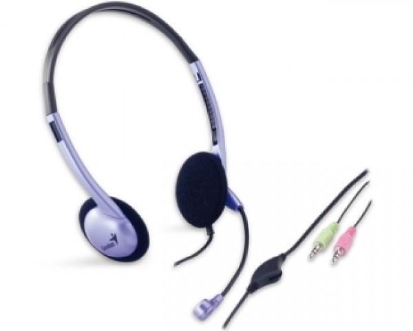 GENIUS HS-02B slušalice sa mikrofonom