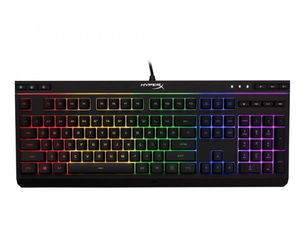 KINGSTON HX-KB5ME2-US HyperX Alloy Core RGB - Membrane Gaming tastatura