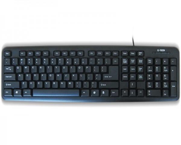 ETECH E-5050 PS2 YU crna tastatura