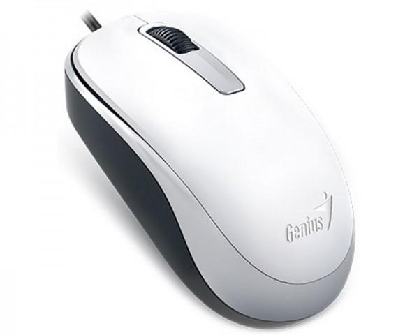 GENIUS DX-125 USB Optical beli miš