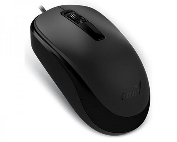 GENIUS DX-125 USB Optical crni miš