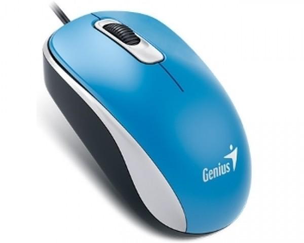 GENIUS DX-110 USB Optical plavi miš