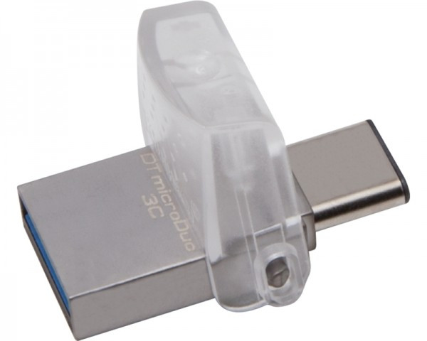 KINGSTON 32GB DataTraveler MicroDuo 3C USB 3.1 flash DTDUO3C32GB srebrni