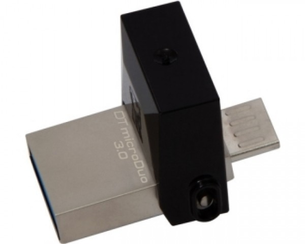 KINGSTON 32GB DataTraveler MicroDuo USB 3.0USB OTG flash DTDUO332GB crni