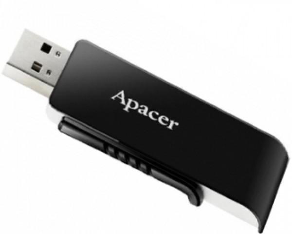 APACER 16GB AH350 USB 3.0 flash crni