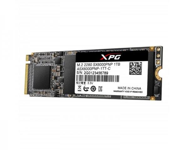 A-DATA 1TB M.2 PCIe Gen 3 x4 NVMe ASX6000PNP-1TT-C SSD