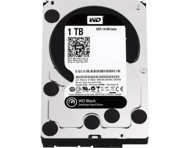 WD 1TB 3.5'' SATA III 64MB 7.200rpm WD1003FZEX Black