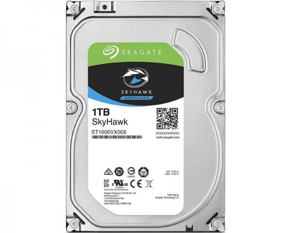 SEAGATE 1TB 3.5'' SATA III 64MB ST1000VX005 SkyHawk Surveillance HDD