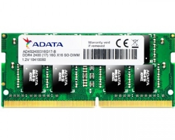 A-DATA SODIMM DDR4 16GB 2400Mhz AD4S2400316G17-S