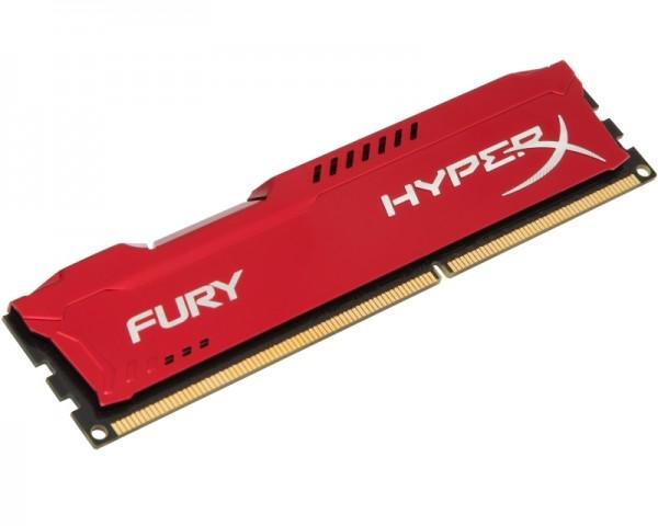 KINGSTON DIMM DDR3 8GB 1866MHz HX318C10FR8 HyperX Fury Red