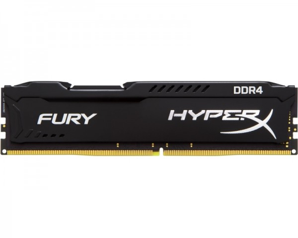 KINGSTON DIMM DDR4 4GB 2666MHz HX426C15FB4 HyperX Fury Black
