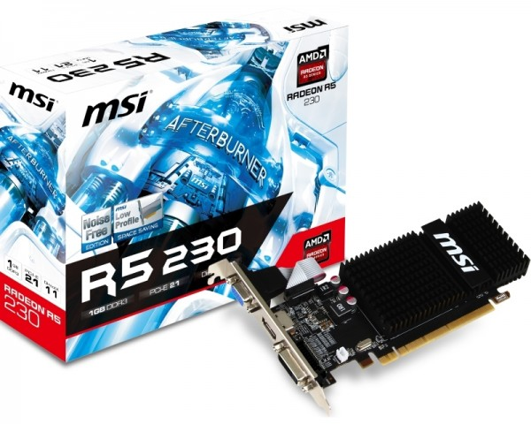 MSI nVidia R5 230 1GB (R5 230 1GD3H) Grafička kartica niskoprofilna