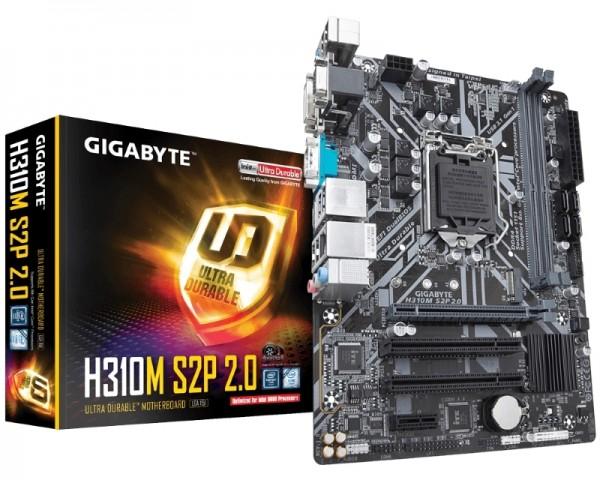 GIGABYTE H310M S2P 2.0 rev.1.0