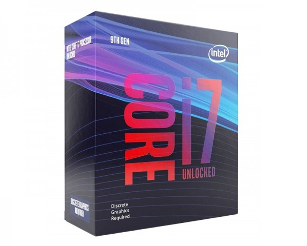 INTEL Core i7-9700KF 8-Core 3.6GHz (4.9GHz) Box Procesor
