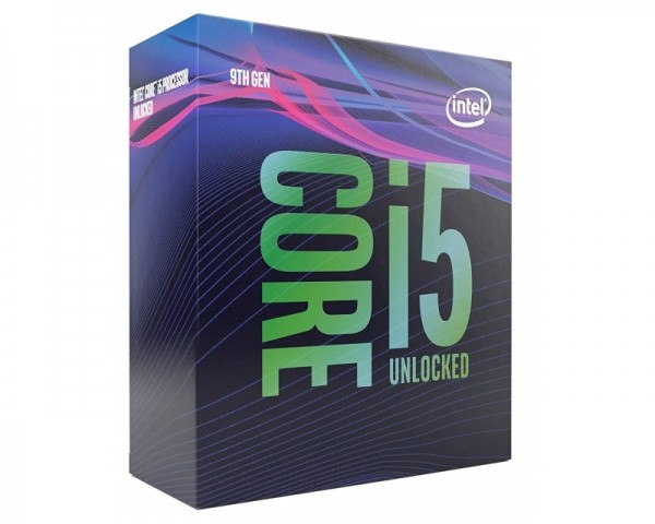 INTEL Core i5-9600K 6-Core 3.7GHz (4.6GHz) Box Procesor