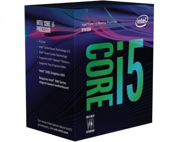 INTEL Core i5-8400 6-Core 2.8GHz (4.0GHz) Box Procesor