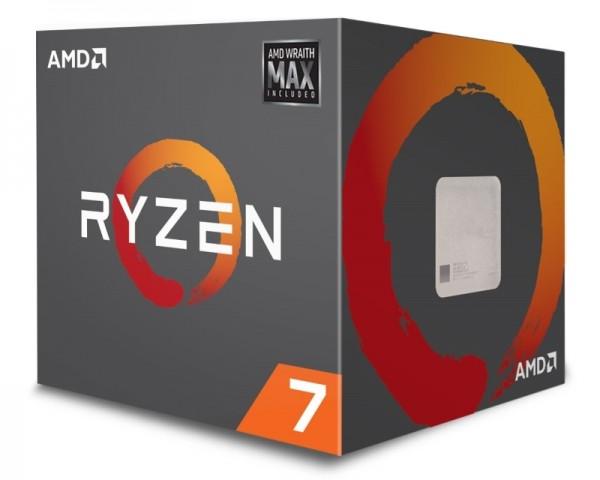 AMD Ryzen 7 2700 MAX 8 cores 3.2GHz (4.1GHz) Box Procesor