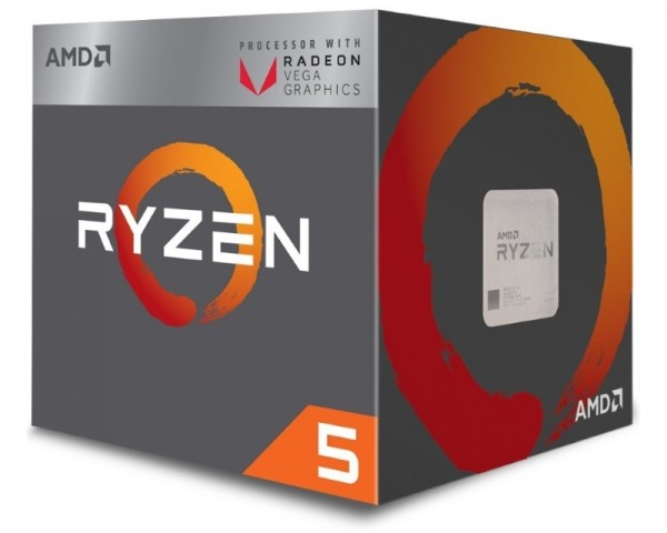 AMD Ryzen 5 2400G 4 cores 3.6GHz (3.9GHz) Box