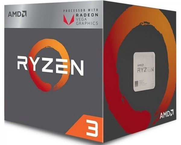 AMD Ryzen 3 2200G QC 3.5GHz (3.7GHz) Box AM4 Procesor