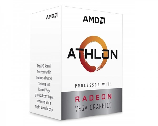 AMD Athlon 240GE 2 cores 3.5GHz Box Procesor