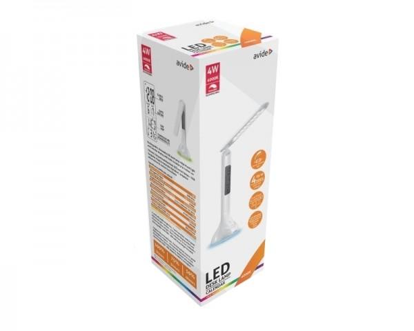 AVIDE ABLDLRGB-CALENDAR-4W punjiva stona lampa 4w (250 LUMEN) bela