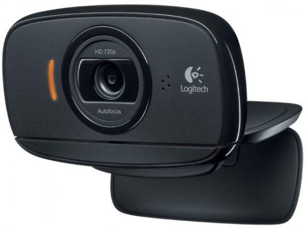Logitech C525 HD Webcam, Black, USB, Win 10