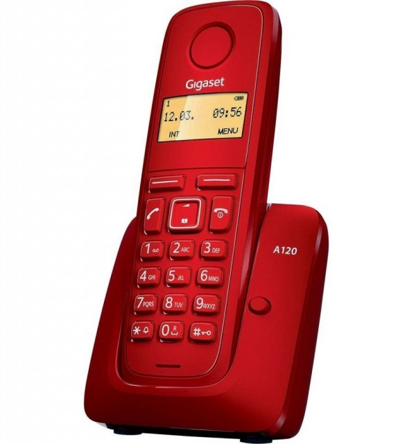 Gigaset A120 IM-East Red