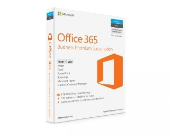 MICROSOFT Office 365 Bus Prem Retail English Subscr 1YR CEE Only Mdls KLQ-00425