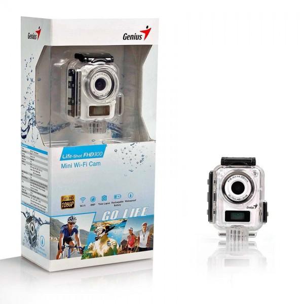 Genius Akciona kamera LIFE SHOT FHD300 bela