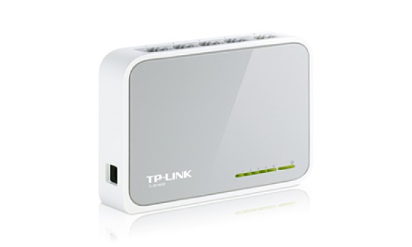 TP-Link TL-SF1005D 5-port 10-100 Desktop Switch