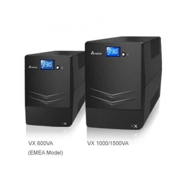 Delta UPS Agilon VX-1500VA Line-interactive 1500VA/900W (12V9Ah x 2pcs) IECx6 LCD USB Tower