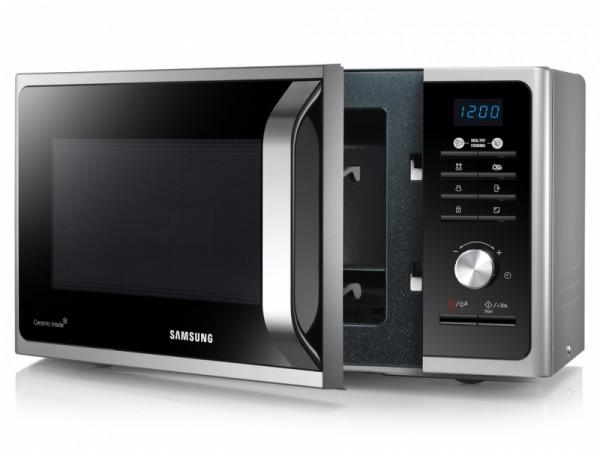 Samsung MS23F301TAS mikrotalasna rerna 23l 1150W LED ekran crna inox