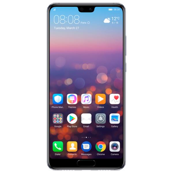 HUAWEI P20 Plavi, 5.8'', OC, 4GB, 64GB, 12+20 Mpix, Mobilni telefon