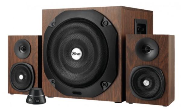 Trust Vigor 2.1 subwoofer speaker set braon