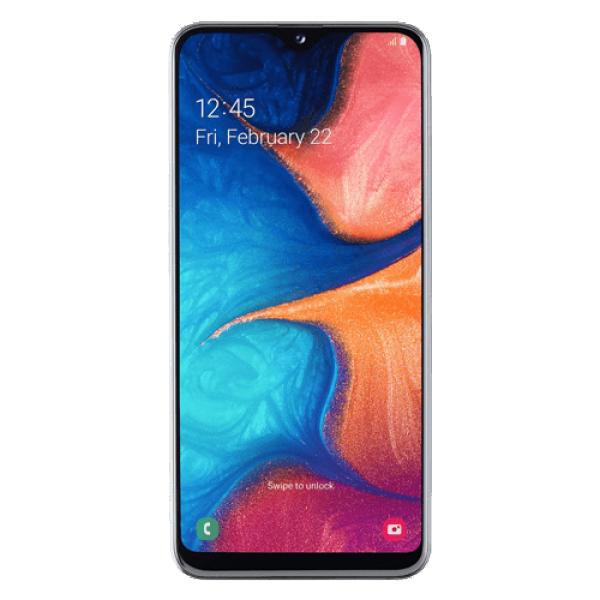 SAMSUNG Galaxy A20e (SM-A202FZWDSEE) DS Beli, 5.8'', OC, 3GB, 32GB, 13+5 Mpix, Mobilni telefon
