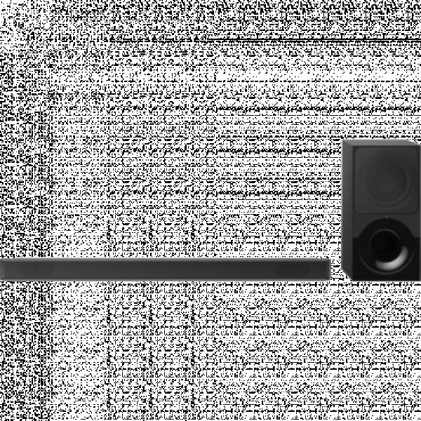 SONY 2.1 Soundbar zvučnici HT-XF9000, 300W, Crni