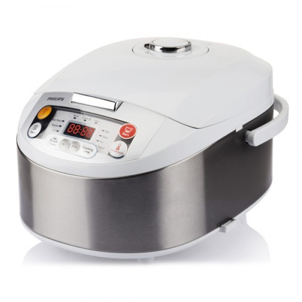 PHILIPS Multicooker HD303770 BelaInox, 980W