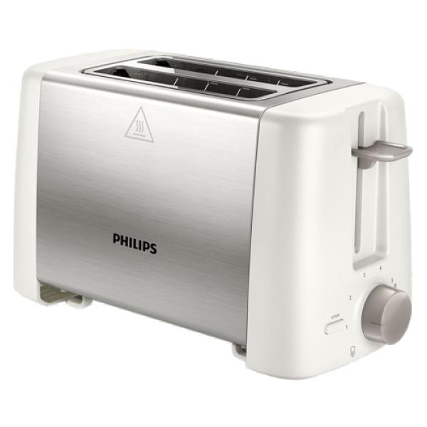 PHILIPS Toster HD482500 BelaInox, 800W