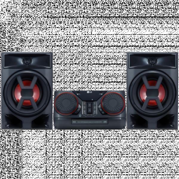 LG Mikro linija CK43, 300W, FM, Crna
