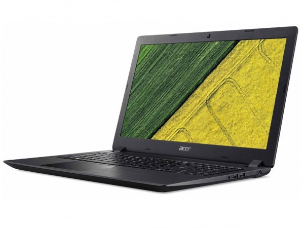 Acer Laptop A315-53 (NX.H9KEX.009) 15.6'' HD Intel Core i3-7020U 8GB 500GB Intel HD Win 10 Home Obsidian black