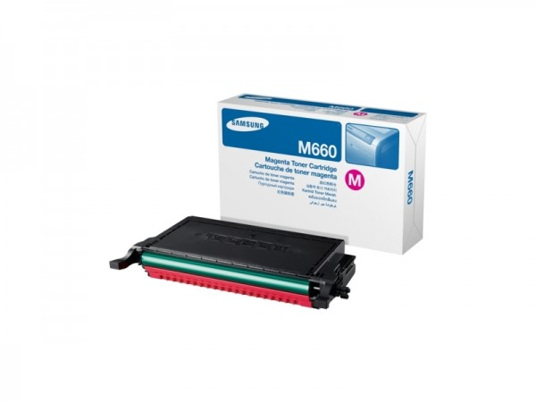 Samsung CLP-M660A Magenta Toner