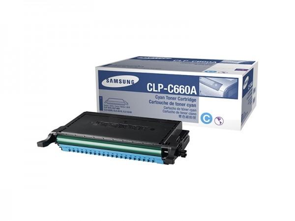 Samsung CLP-C660A Cyan Toner