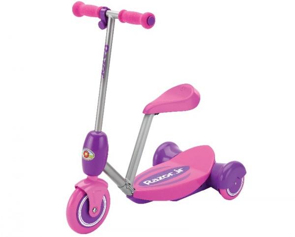 Razor električni trotinet Lil Es Electric ScooterSeated roze