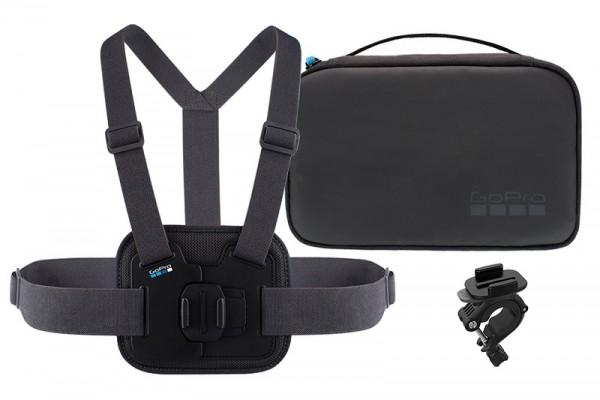 GoPro Sports kit (chesty + handlebarseatpostpole mount + mounts)